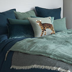 Luxury Accessories featuring the Bengal Decorative Pillow by Iosis